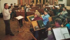 2004-Probe mit Prof. Gottfried Veit