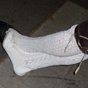 Uebergrosse Damenschuh 2